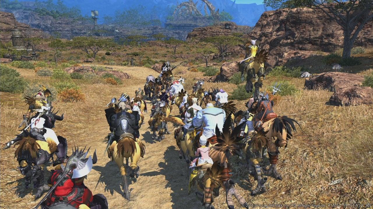 Final Fantasy XIV Online: A Realm Reborn (PS4 ...