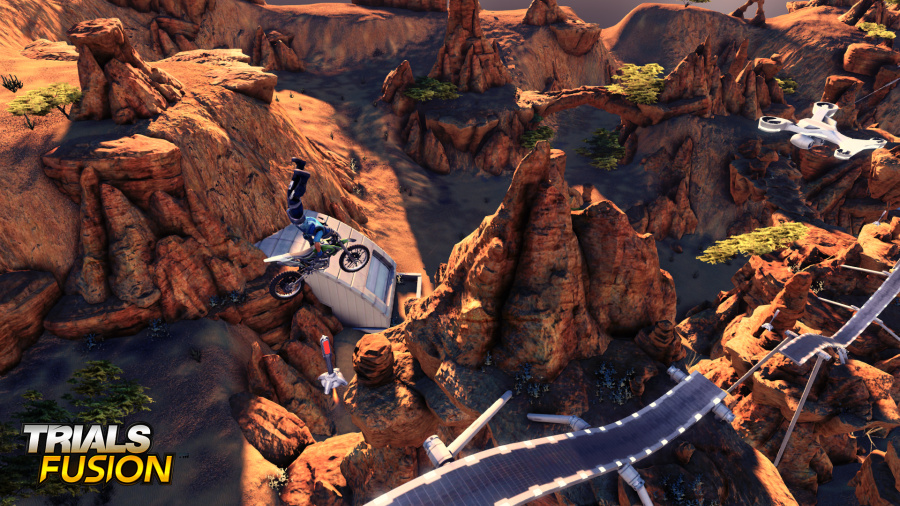 Trials Fusion Review - Screenshot 3 of 4