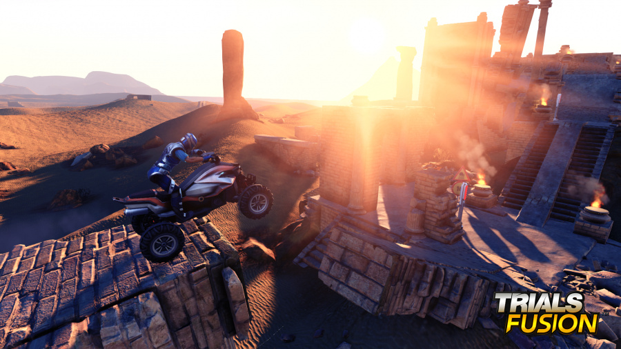 Trials Fusion Review - Screenshot 2 of 4