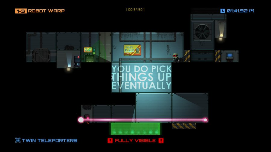 Stealth Inc: A Clone in the Dark - Ultimate Edition Review - Screenshot 1 of 2
