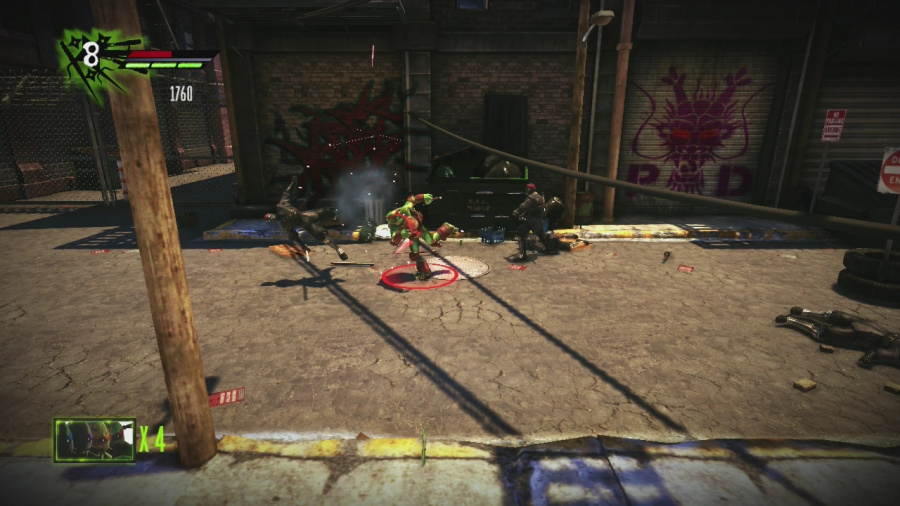 Teenage Mutant Ninja Turtles: Out of the Shadows Review - Screenshot 1 of 3