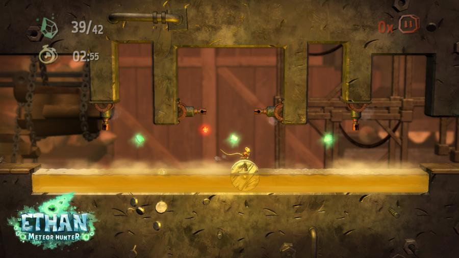 Ethan: Meteor Hunter Review - Screenshot 1 of 3