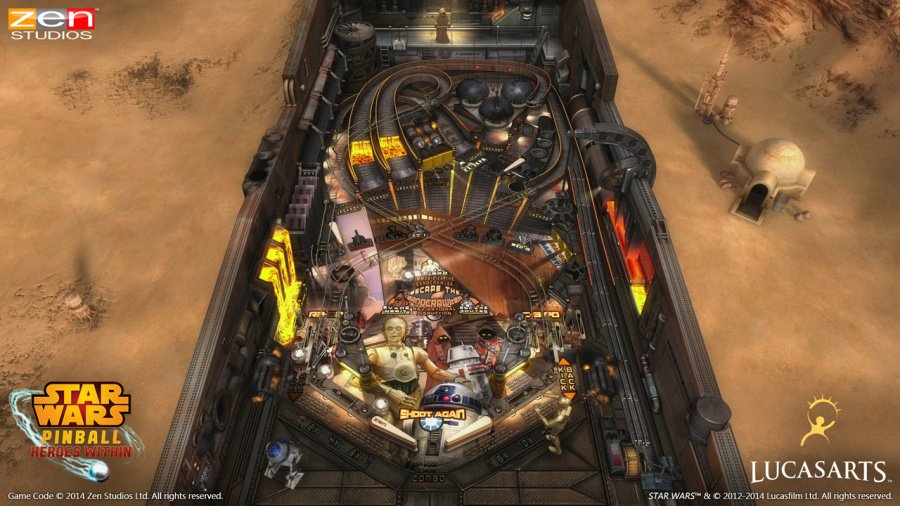 Star Wars Pinball: Heroes Within Review - Screenshot 2 of 3