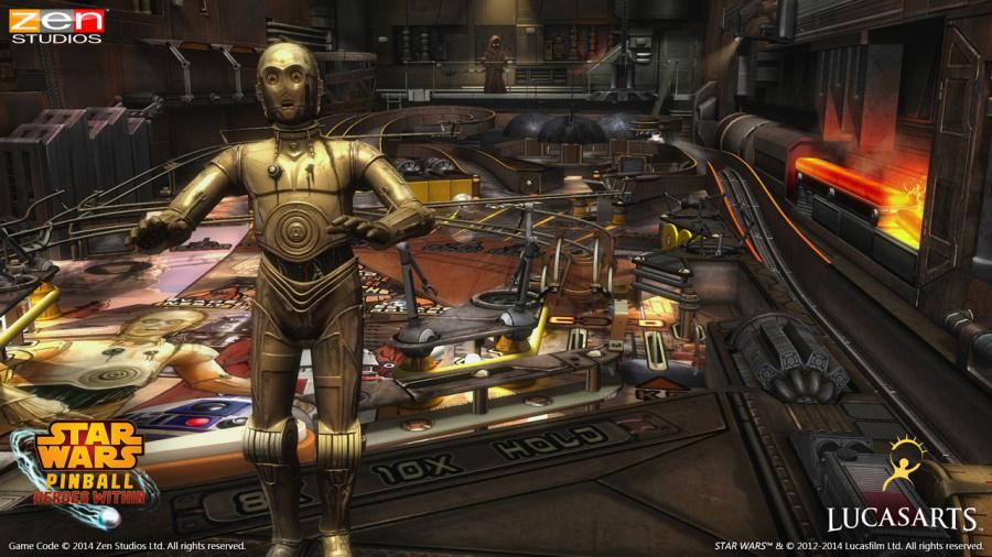 Star Wars Pinball: Heroes Within Review - Screenshot 1 of 3