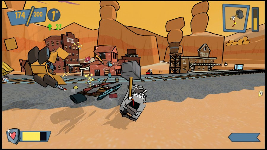 Cel Damage HD Review - Screenshot 3 of 4