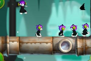 Lemmings Touch Screenshot