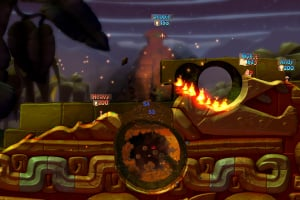 Worms Battlegrounds Screenshot