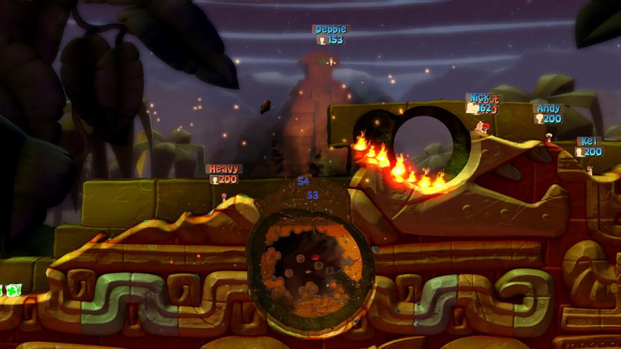 Worms Battlegrounds Review - Screenshot 1 of 4