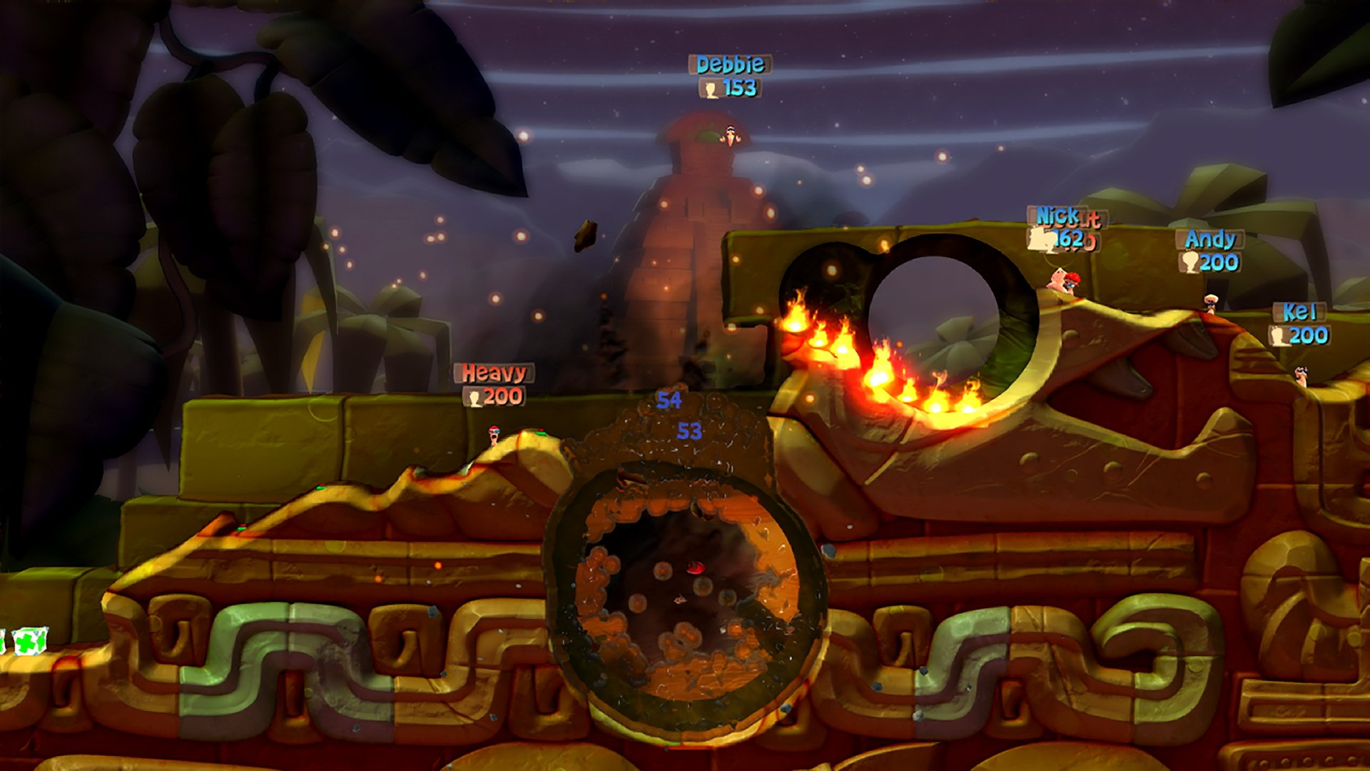 Worms Battlegrounds Ps4 Playstation 4 Game Profile