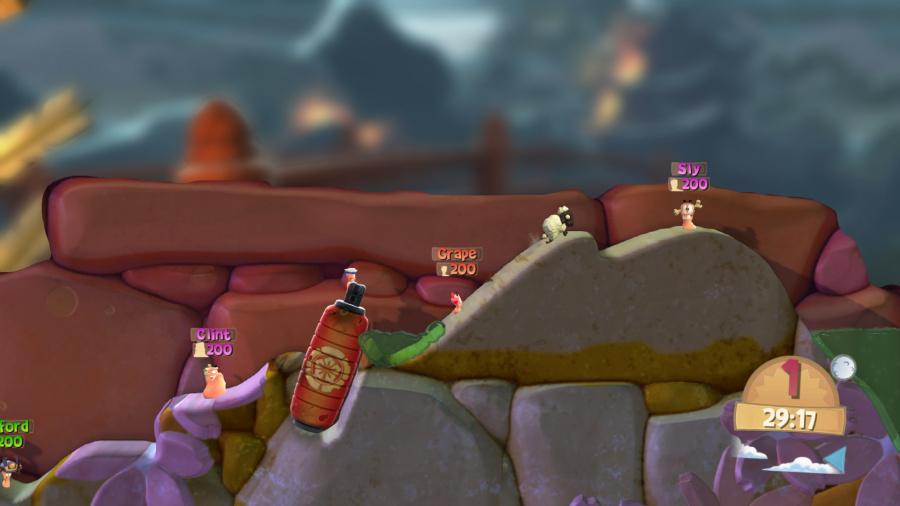 Worms Battlegrounds Review - Screenshot 2 of 4