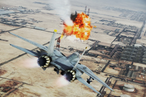 Ace Combat: Infinity Screenshot