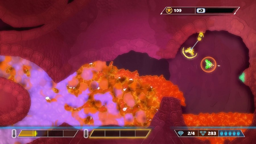 PixelJunk Shooter Ultimate Review - Screenshot 2 of 4