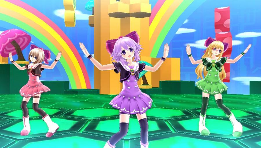 Hyperdimension Neptunia: Producing Perfection Review - Screenshot 1 of 4