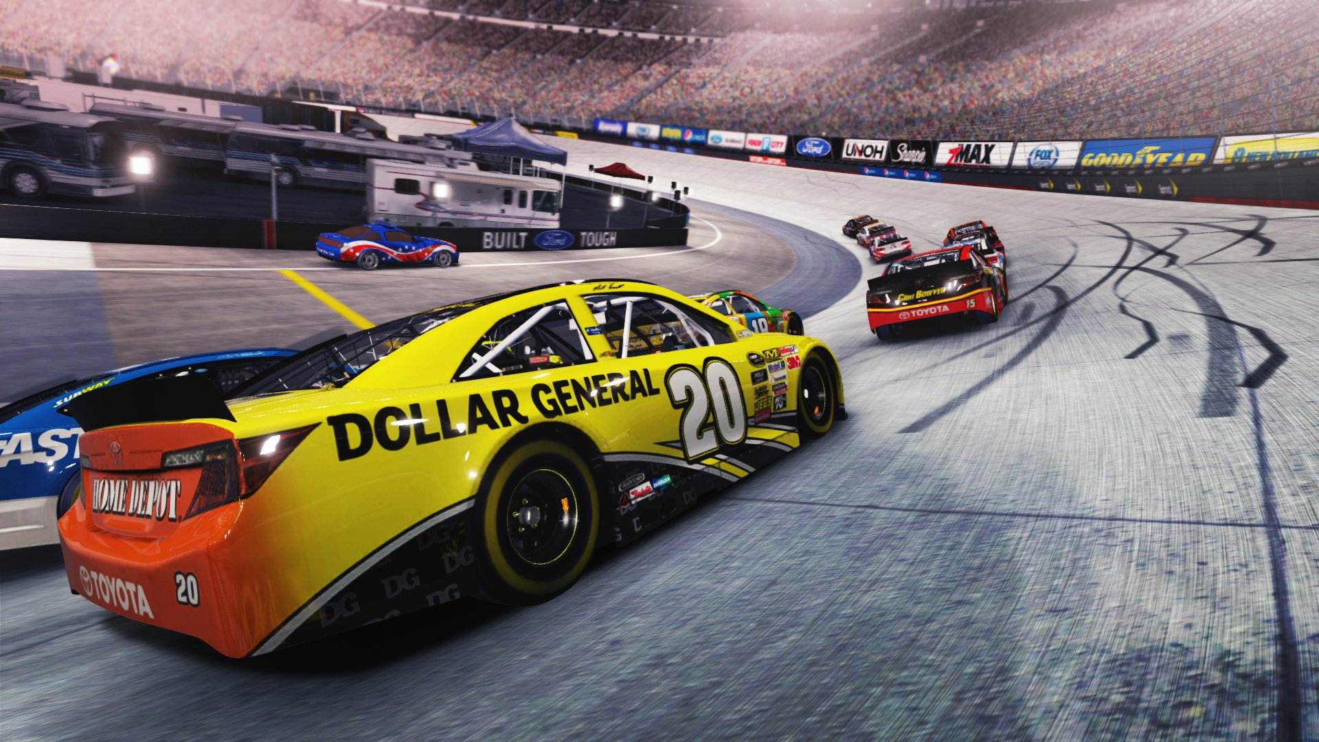 Nascar 2008 Screenshots Pictures Wallpapers: NASCAR '14 Review (PS3)