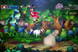 Battle Princess of Arcadias Screenshot
