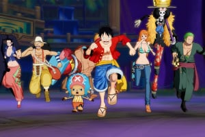 One Piece: Unlimited World Red Screenshot