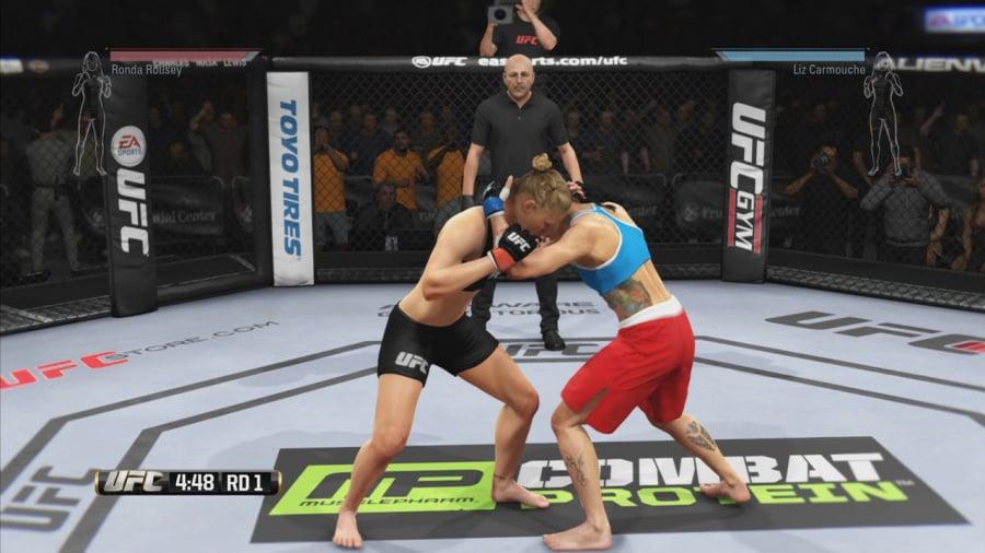 EA Sports UFC Review - Screenshot 1 of 7