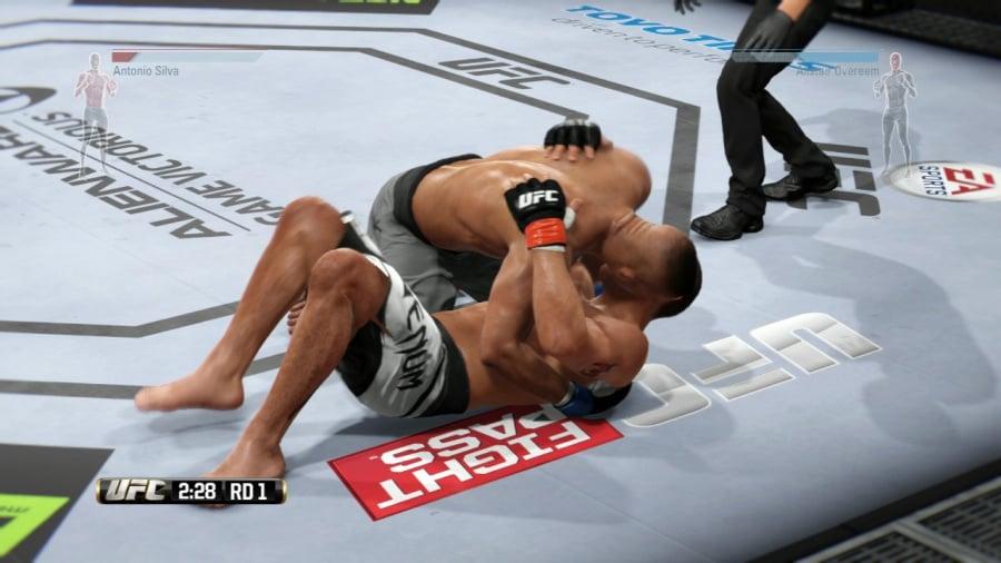 EA Sports UFC Review - Screenshot 1 of 6