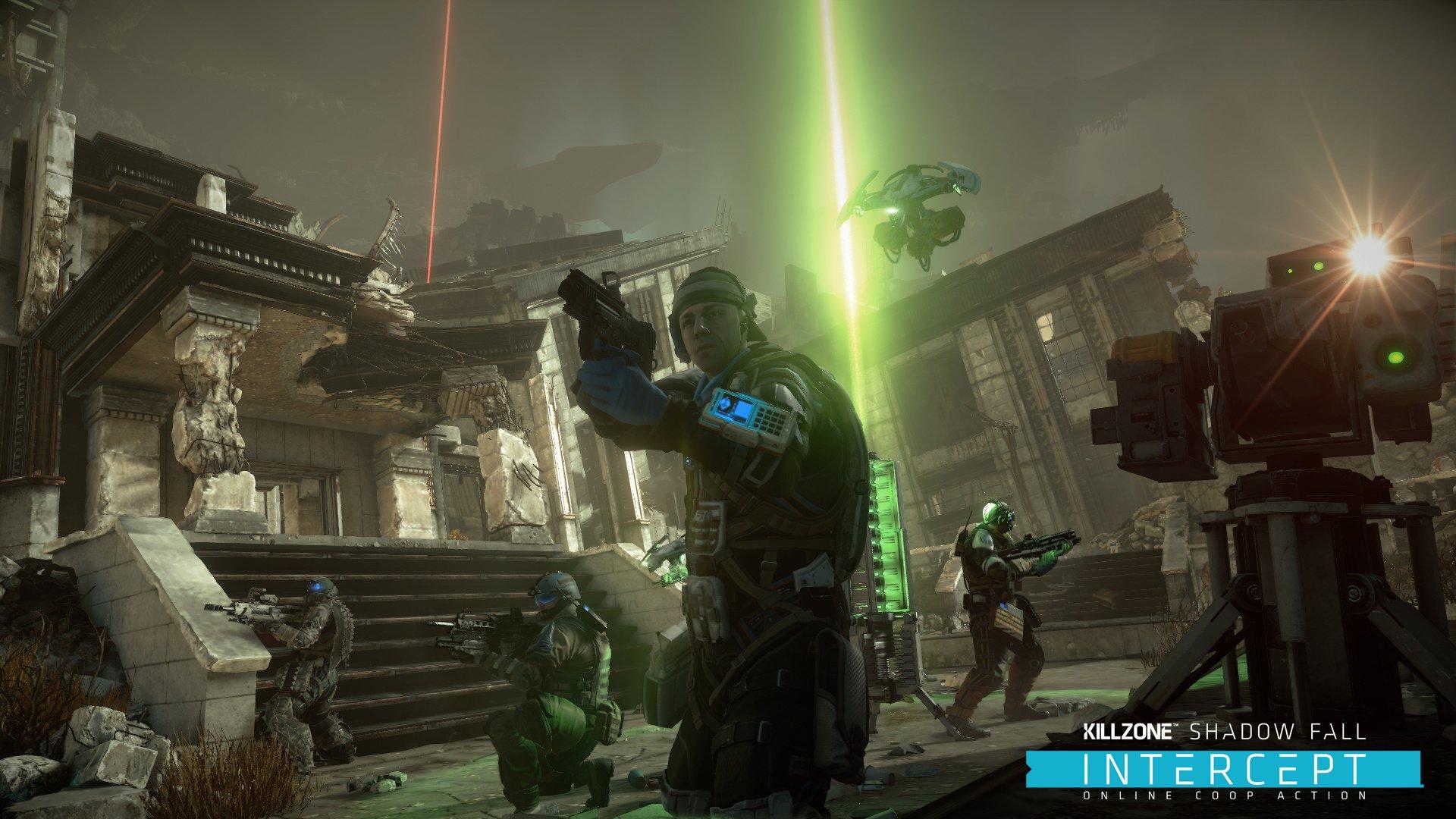 large - بازی اورجینال Killzone Shadow Fall پلیاستیشن ۴