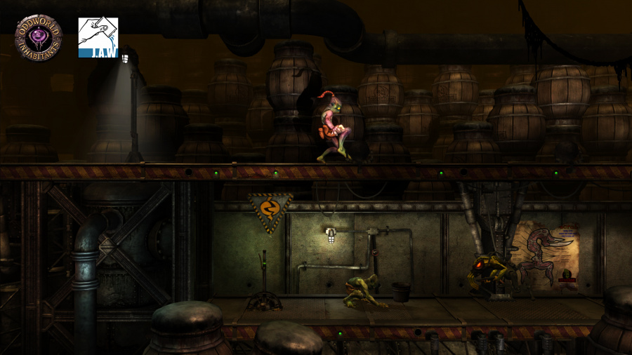 Oddworld: New 'n' Tasty Review - Screenshot 1 of 6