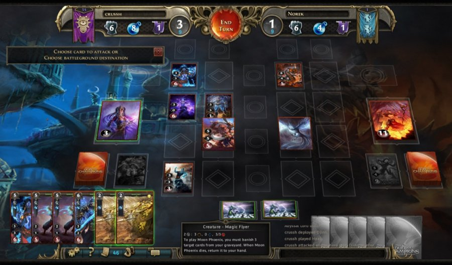 Might & Magic: Duel of Champions - Forgotten Wars Review - Screenshot 1 of 4