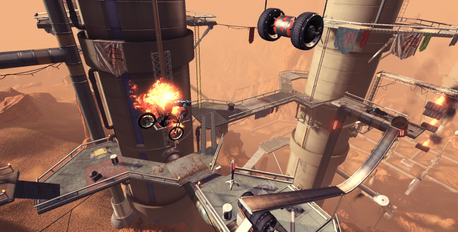 Trials Fusion: Riders of the Rustlands Review - Screenshot 1 of 3