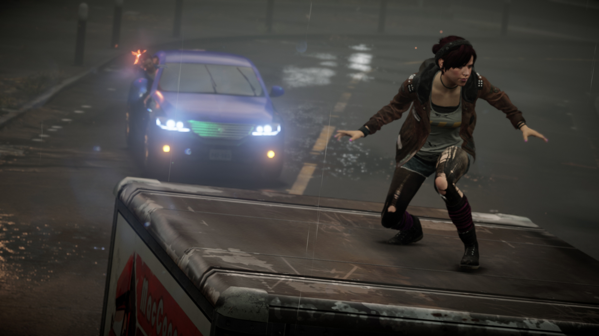 Infamous First Light Ps4 Playstation 4 News Reviews