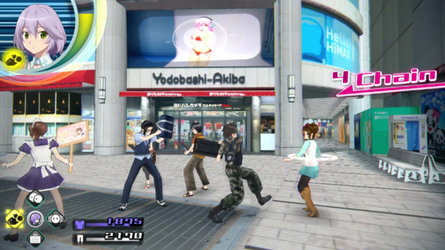 Akiba's Trip: Undead & Undressed Review - Screenshot 1 of 4