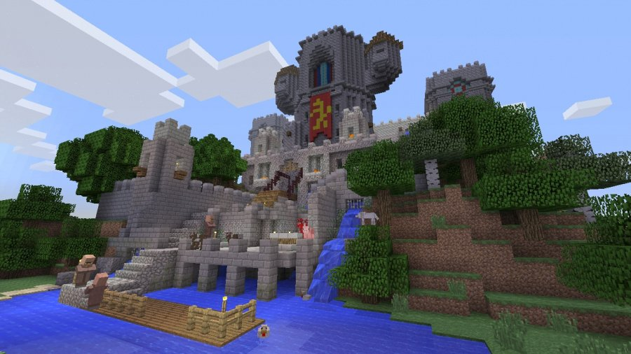 Minecraft: PlayStation 4 Edition Review - Screenshot 1 of 4