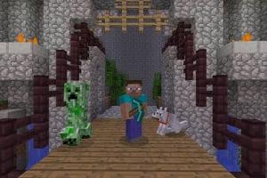 Minecraft: PlayStation 4 Edition Screenshot
