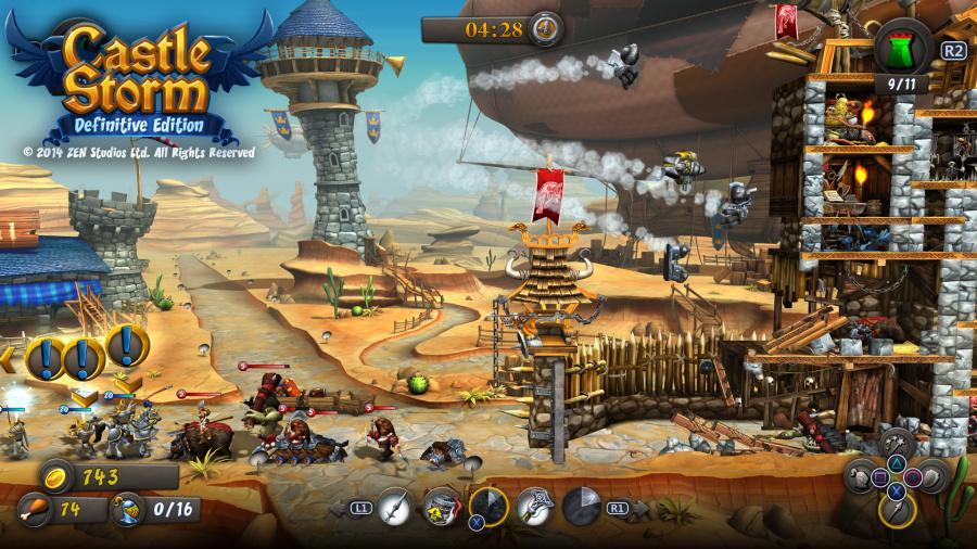 CastleStorm: Definitive Edition Review - Screenshot 1 of 3