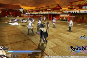 Senran Kagura Shinovi Versus Screenshot