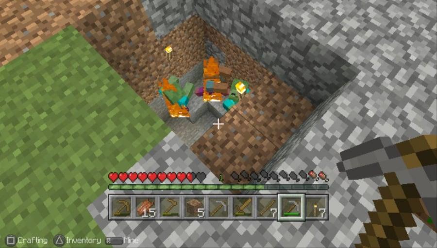 Minecraft: PS Vita Edition Review - Screenshot 1 of 3