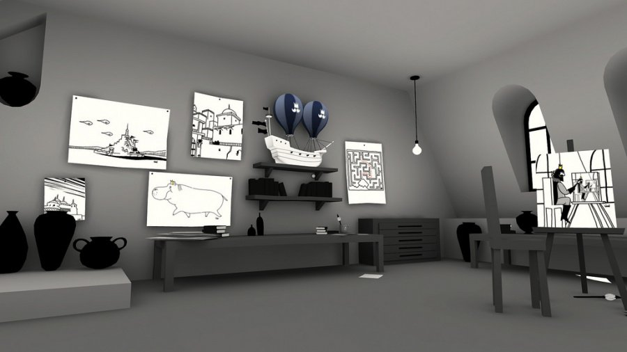 The Unfinished Swan Review - Screenshot 1 of 3