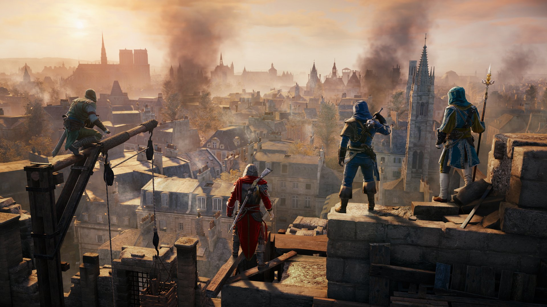 Assassin S Creed Unity Review Ps4 Push Square