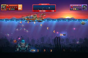 Aqua Kitty: Milk Mine Defender DX Screenshot