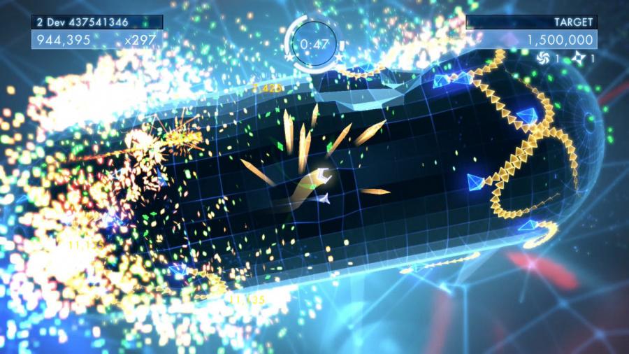 Geometry Wars 3: Dimensions Review - Screenshot 1 of 3