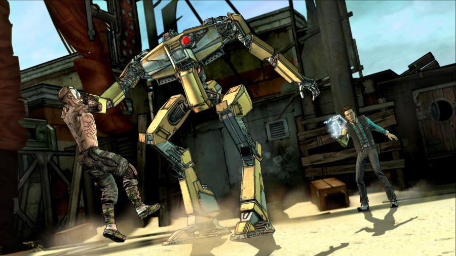 Tales from the Borderlands: Episode 1 - Zer0 Sum Review - Screenshot 1 of 3