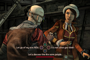 Tales from the Borderlands: Episode 1 - Zer0 Sum Screenshot