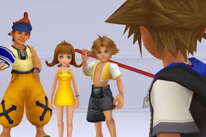 Kingdom Hearts HD 2.5 ReMIX Screenshot