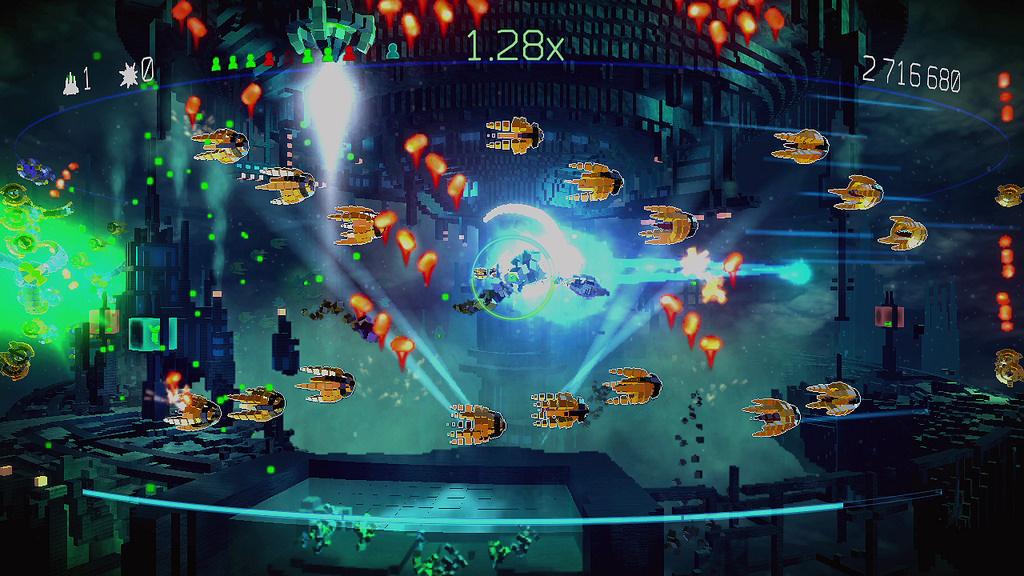 Sony Ps Vita Games Screenshots : Resogun ps vita playstation news reviews
