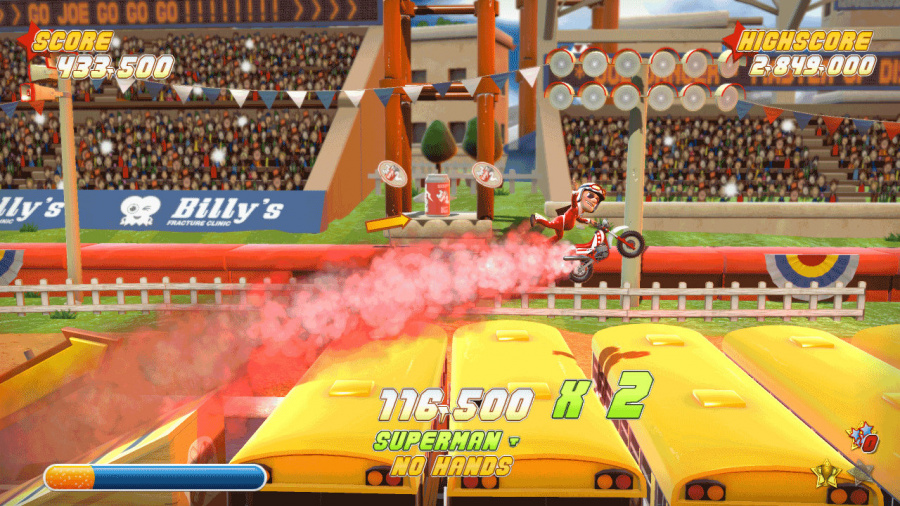 Joe Danger Review - Screenshot 2 of 4