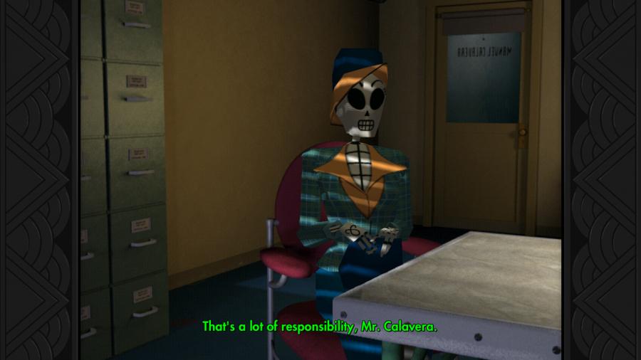 Grim Fandango Remastered Review - Screenshot 1 of 4