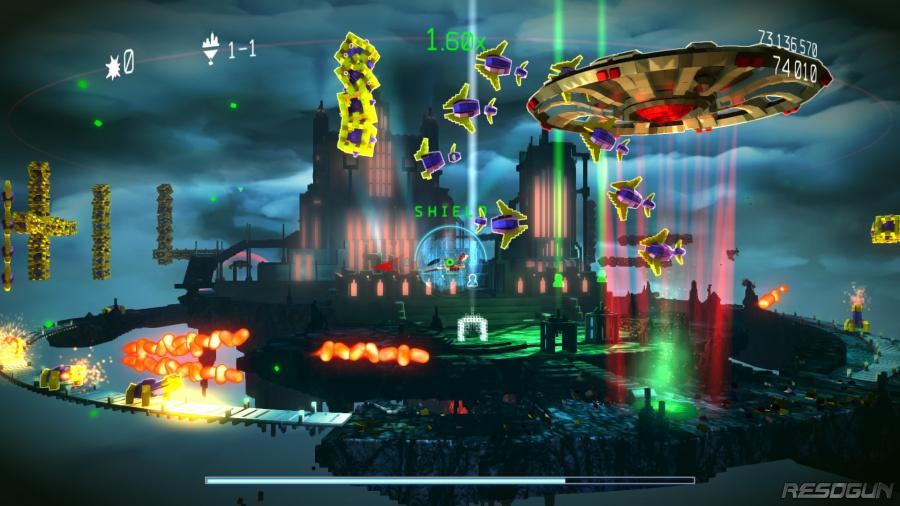 Resogun: Defenders Review - Screenshot 2 of 3