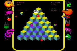 Q*Bert Rebooted Screenshot