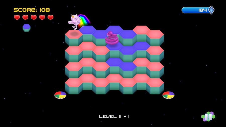 Q*Bert Rebooted Review - Screenshot 3 of 3