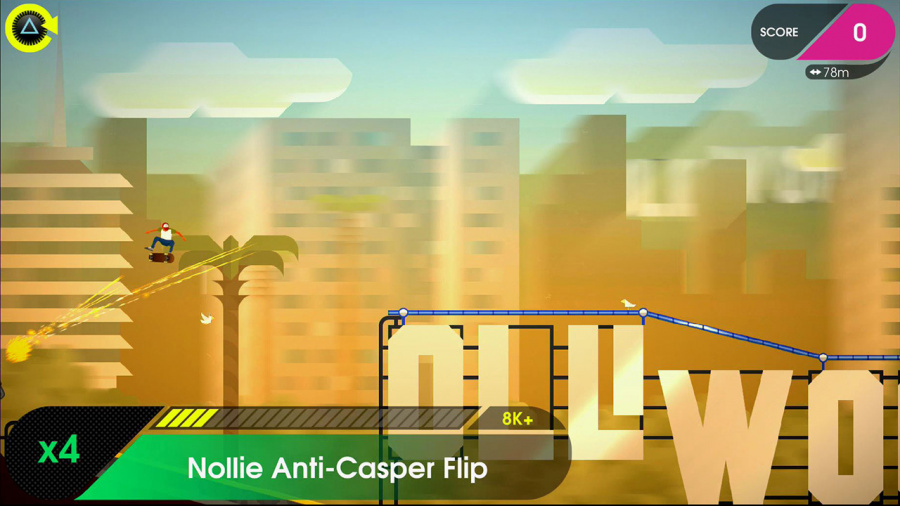 OlliOlli 2: Welcome to Olliwood Review - Screenshot 2 of 3