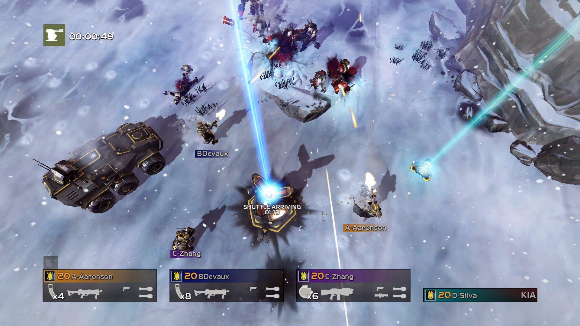 Sony Ps Vita Games Screenshots : Helldivers ps vita playstation news reviews