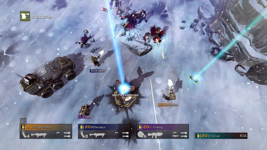 Helldivers Review - Screenshot 4 of 6