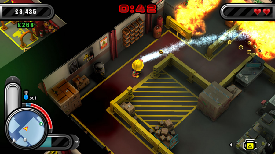 Flame Over Review - Screenshot 1 of 3